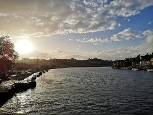 rzeka Duoro wPorto
