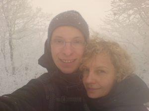 zima Beskid Niski