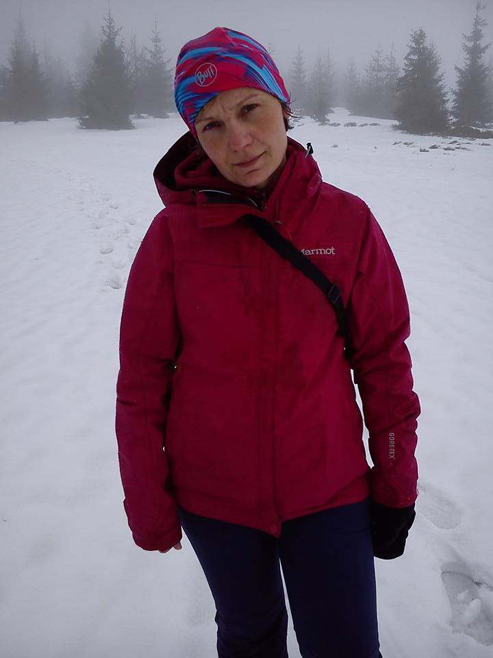 zima Beskid Wyspowy