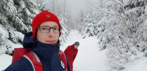 zima Pieniny
