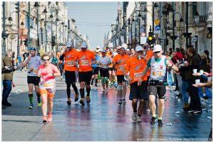 dziewczyna, bieganie, maraton, Łódź