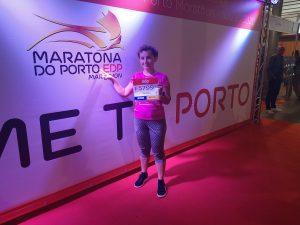 dziewczyna, bieganie, maraton, Porto