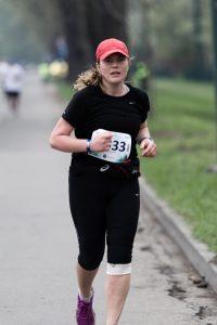 biegaczka, maraton