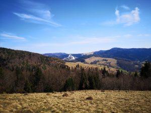 polany, góry, Beskid Sądecki